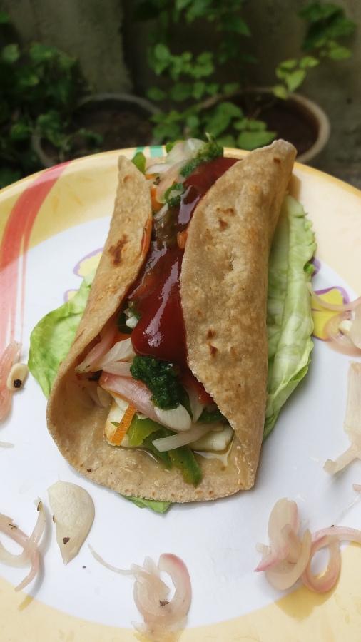 Leftover Roti wrap/How to make Rotiroll