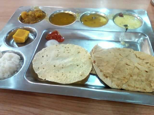 Lunch at Ananadsagar