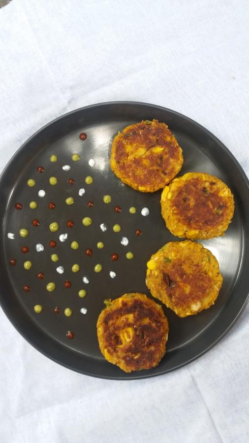 Corn tikki/How to make sweet corntikki