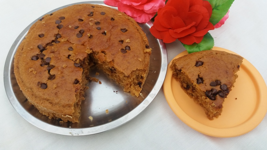 Parle-G biscuits  cake/ Quick and easy parle-g cake