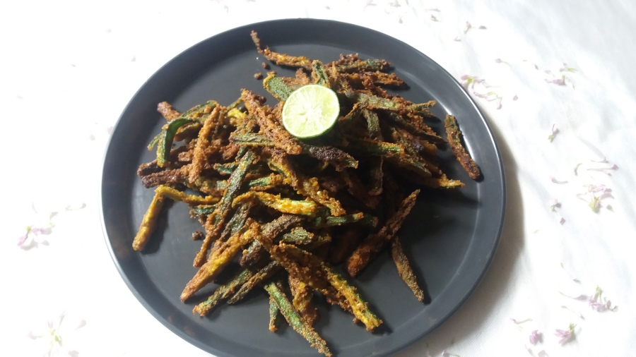 Kurkuri bhindi/How to make kurkuri bhindi