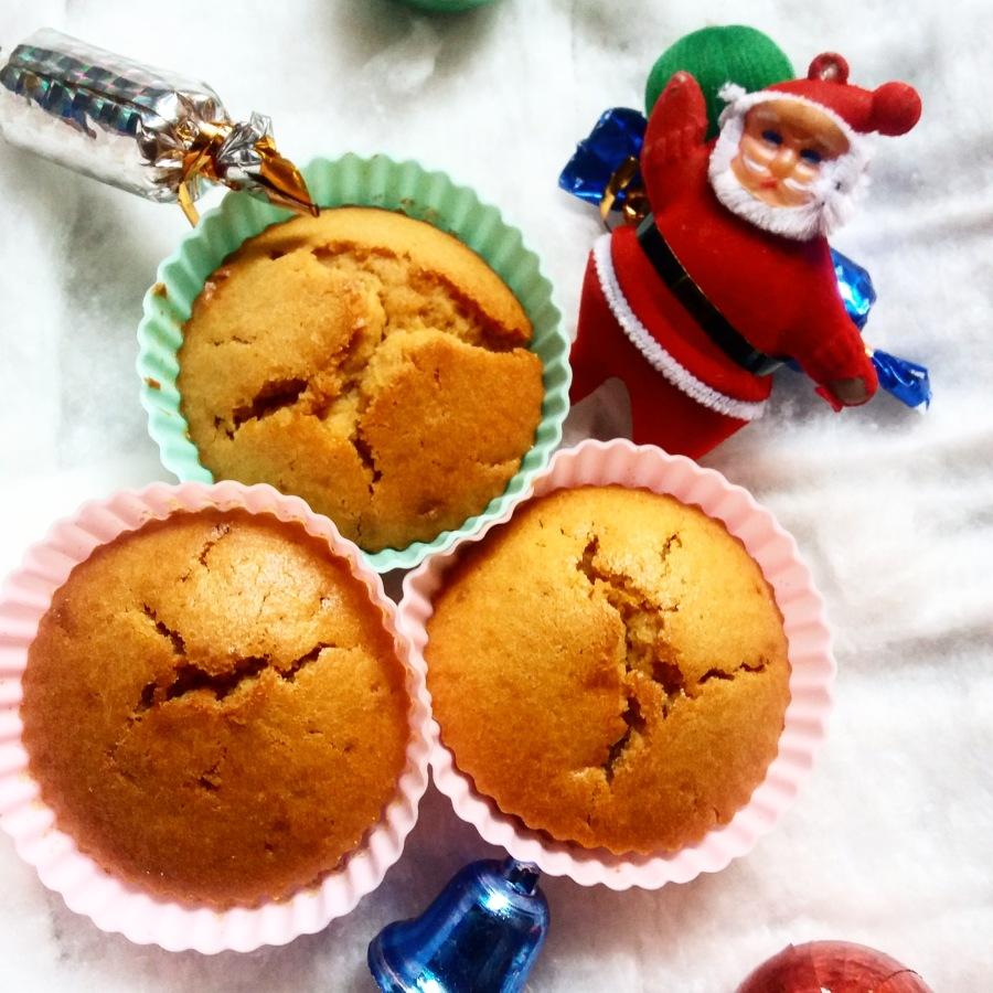 Whole wheat orange muffins(eggless)