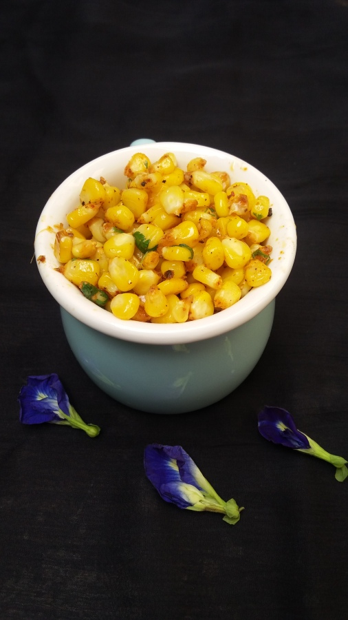 Masala sweet corn/How to make masala sweet corn