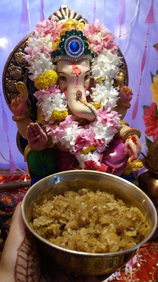 Meetha poha prasad/How to make Meethapoha