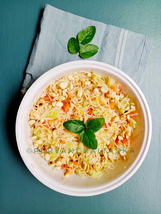 Seviyan salad /Indian noodles salad